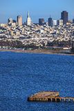 San Francisco downtown cityscape Royalty Free Stock Images