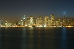 San Francisco Downtown at dusk Royalty Free Stock Images