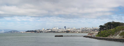San Francisco downtown skyline panorama Royalty Free Stock Photography