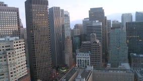 San francisco downtown sunrise timelapse stock video footage