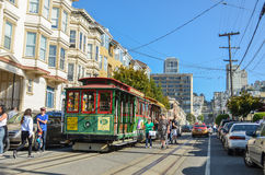 San Francisco Drahtseilbahn Stockfoto
