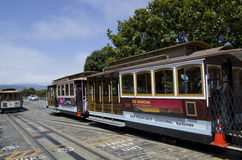 San Francisco-Drahtseilbahnsystem Stockfotografie