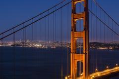 San Francisco durch das Golden Gate Lizenzfreies Stockbild