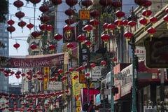 San Francisco Dusk Stock Photos