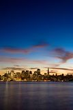 San Francisco at dusk. Stock Photography