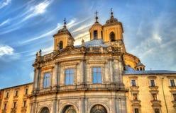 San Francisco el Grande Basilica in Madrid, Spain Royalty Free Stock Photos