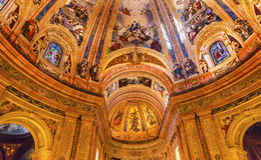 San Francisco el Grande Royal Basilica Madrid Spain Stock Photo