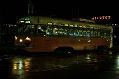 San Francisco Electrical Tram royalty free stock photo