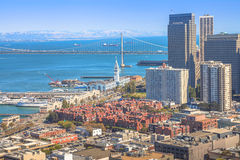 San Francisco Embarcadero imagem de stock royalty free