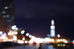 San Francisco Embarcadero at Night Royalty Free Stock Photography