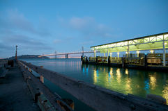 San Francisco Embarcadero Pier Royalty Free Stock Photos