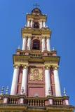 San Francisco en la ciudad de Salta, la Argentina fotos de archivo libres de regalías