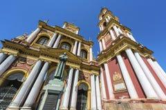 San Francisco en la ciudad de Salta, la Argentina imagen de archivo