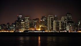San Francisco en la noche Fotografía de archivo