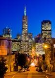 San Francisco en la noche Foto de archivo