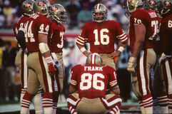 San Francisco 49ers skupisko fotografia royalty free