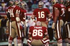 San Francisco 49erswirwar royalty-vrije stock fotografie