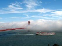 San Francisco et bateau Image stock