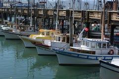 San Francisco EUA Os barcos e os iate no porto valem a pena foto de stock royalty free