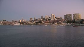 San Francisco in the evening, United States stock video