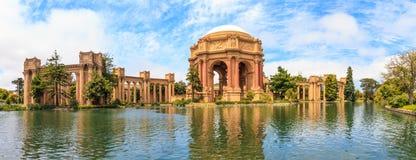 San Francisco, Exploratorium och slott av konst Arkivfoton