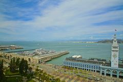 San Francisco Fähren-Gebäude Stockbild