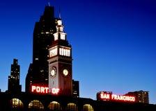 San Francisco färjabyggnad Fotografering för Bildbyråer