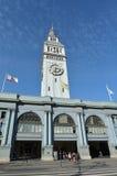 San Francisco färjabyggnad Royaltyfri Fotografi