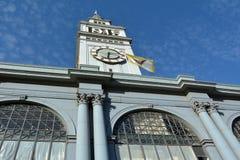 San Francisco färjabyggnad Arkivbilder