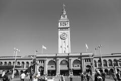San Francisco färjabyggnad Arkivbild