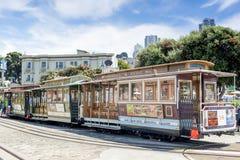 San-Francisco-förenade tillstånd, Juli 13, 2014: Autentiska San-Franci Arkivfoto