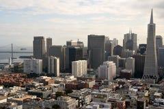 San Francisco fascynujących linię horyzontu Zdjęcia Royalty Free