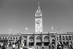 San Francisco Ferry Building Stock Photography