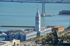San Francisco Ferry Building Marketplace Stock Photography