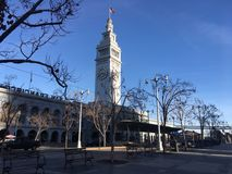 San Francisco Ferry Building, question principale d'entrée pour le trafic de passager sur San Francisco Bay image stock