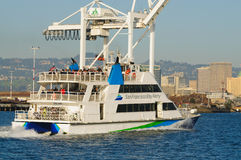 San Francisco Ferry in Oakland harbor Stock Images