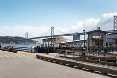 San Francisco ferry terminal Royalty Free Stock Photography
