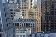 San Francisco Financial District Stock Images