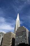 San Francisco Financial District Royalty Free Stock Photography