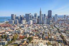 San Francisco Financial District Foto de Stock Royalty Free