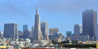 San Francisco Financial District Royalty-vrije Stock Afbeeldingen