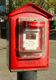San Francisco fire alarm box Royalty Free Stock Images