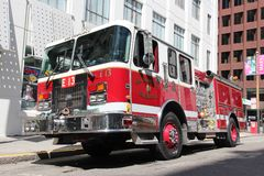 San Francisco Fire Department Stock Images