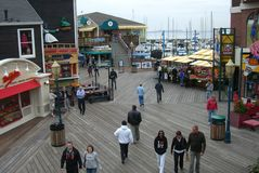 San Francisco - Fisherman's Wharf Stock Photos