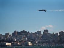 San Francisco Fleet Week air show Royalty Free Stock Image