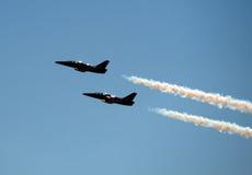San Francisco Fleet Week air show Stock Photography