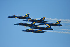 San Francisco Blue angels Fleet Week 2011 Royalty Free Stock Image