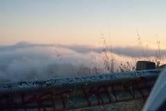 San Francisco Fog Lizenzfreie Stockfotos