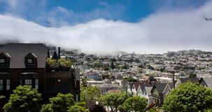 San Francisco Fog stock video footage