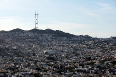 Free San Francisco From Above Stock Photography - 34763782